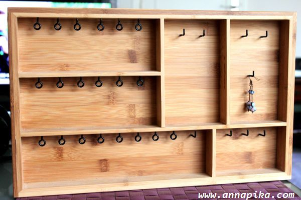 casier de rangement pour bijoux tuto diy anna pika. Black Bedroom Furniture Sets. Home Design Ideas