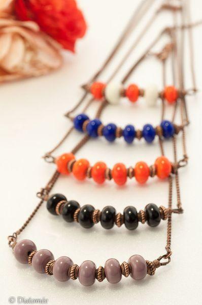 collier Diatomée bijoux
