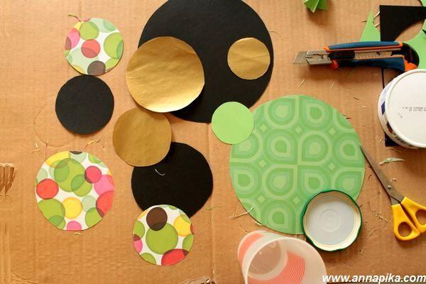 découpe papiers couleur