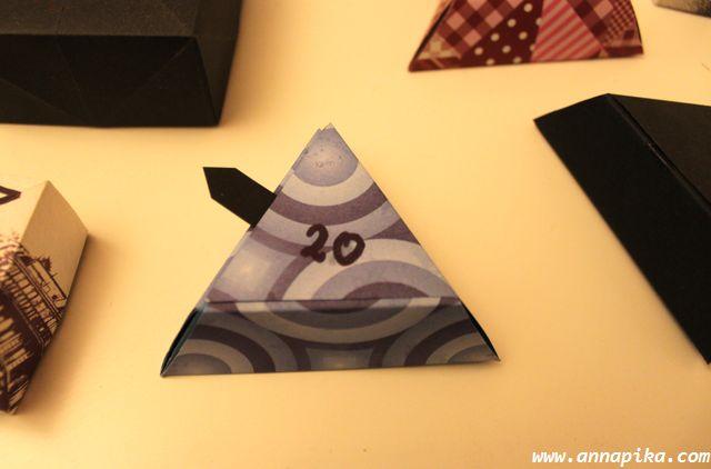 boîte triangle